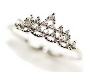 Inele Inel din argint Coroană