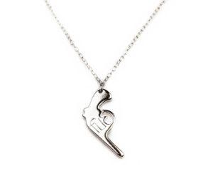 Lanțuri și coliere Lanţ din argint Pistol