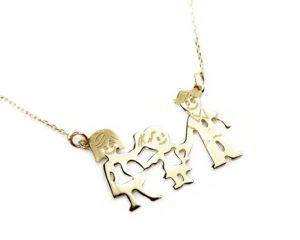 Lanțuri și coliere Lanţ din aur Familia mea