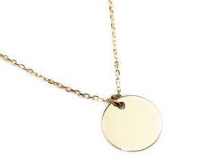 Lanțuri și coliere Lanț din aur cu bănuț