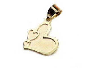 Pandantive Pandantiv din aur inimă