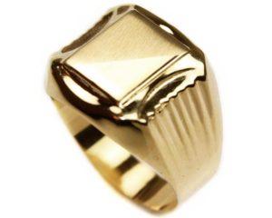 Bijuterii bărbați Inel din aur