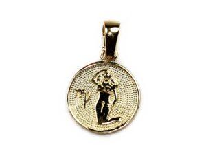 Pandantive Pandantiv din aur Zodia Fecioara
