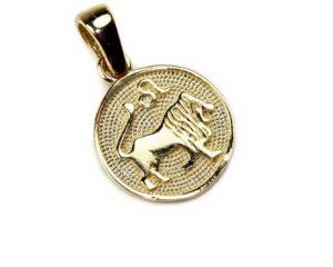 Pandantive Pandantiv din aur Zodia Leu
