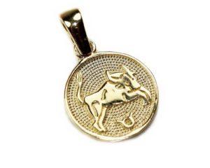 Pandantive Pandantiv din aur Zodia Taur