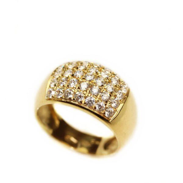 Inel din aur galben 18k