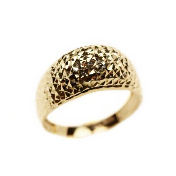Inel din aur galben fara pietre
