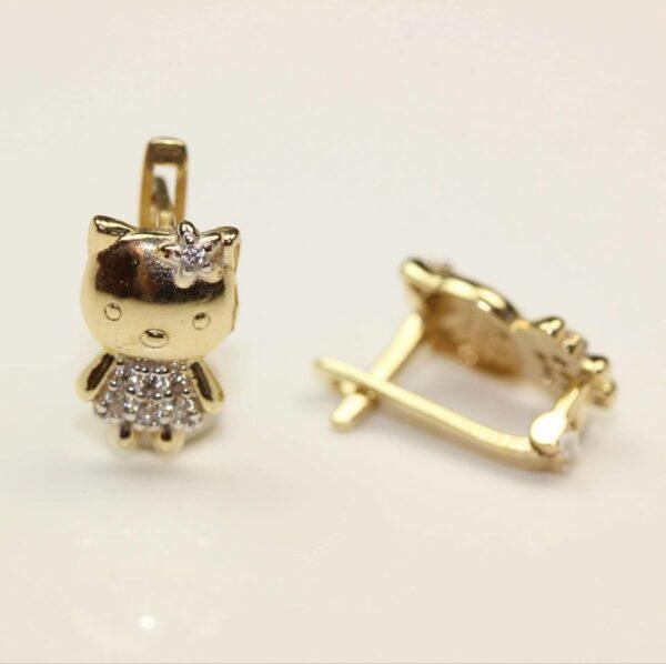 Bijuterii copii Cercei din aur