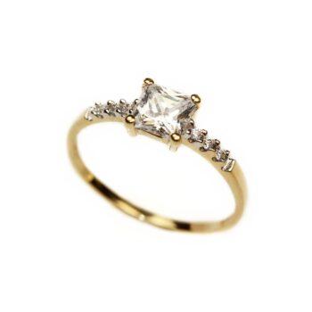 Inel de logodna din aur 18k