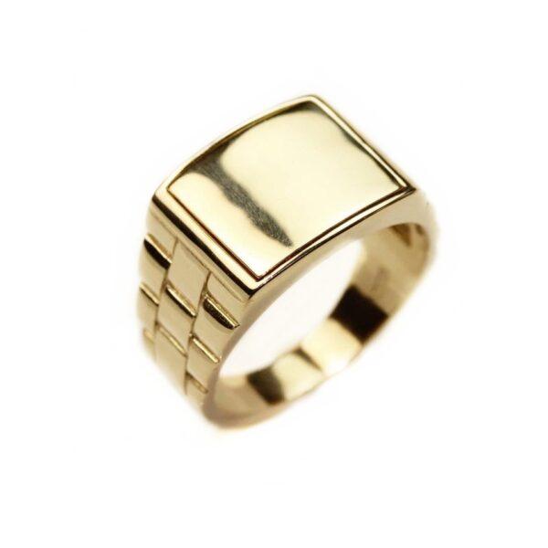 Inel din aur pentru barbati