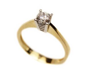 Inel de logodna din aur