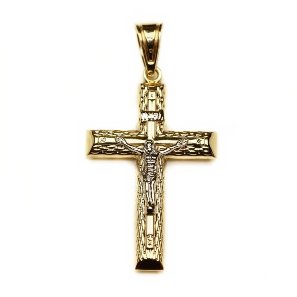 Pandantiv din aur cruce