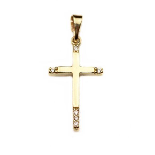 Pandantiv din aur cruciulita