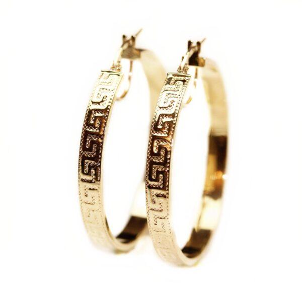 Cercei din aur creole