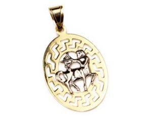 Pandantiv din aur zodia sagetator