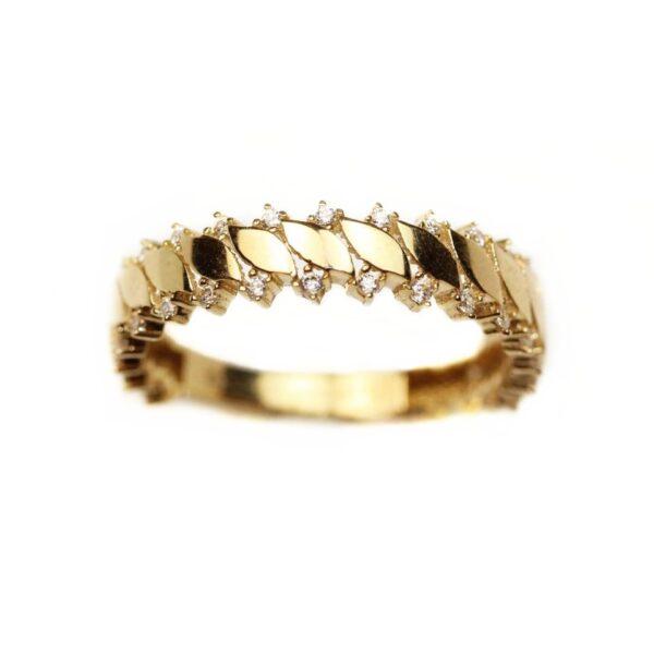 Inel din aur galben 14k